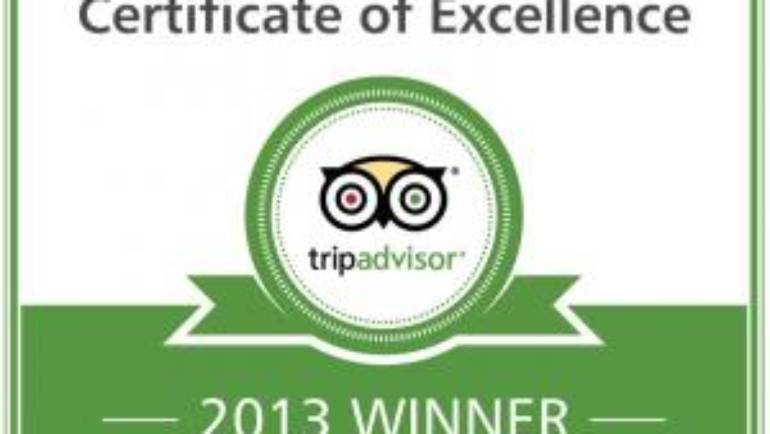 The Devon Valley hotel earns 2013 Tripadvisor certificate of excellence